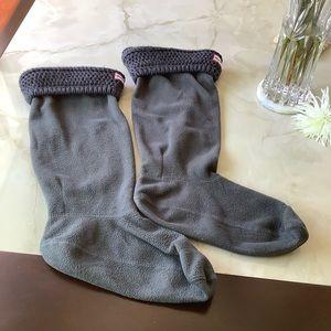 Tall Hunter boot socks